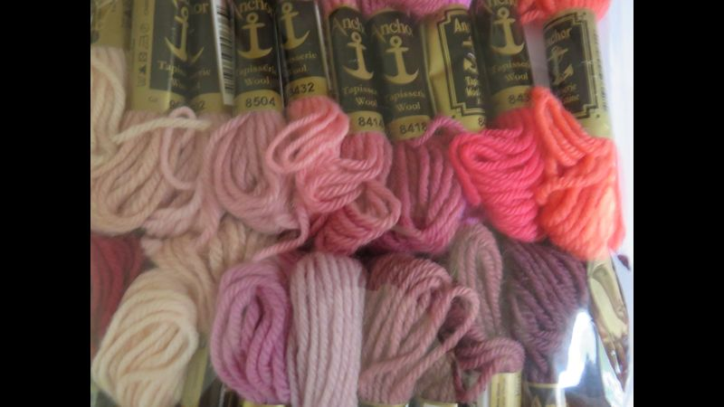 Anchor Tapestry Wools Pack of 20