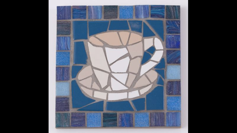 Cup of Tea mosaic
