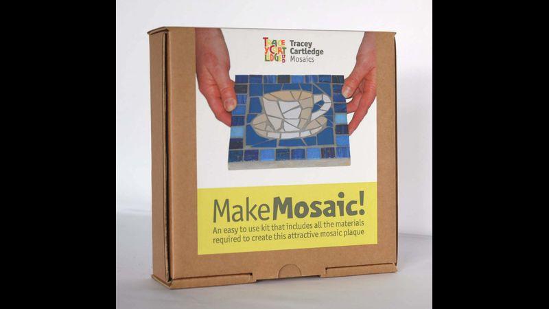 Cup of Tea, Beginners Mosaic Kit