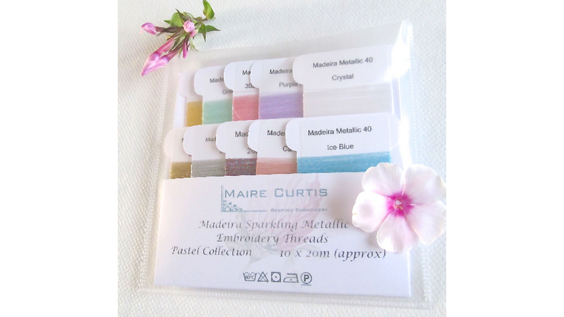 A lovely range of sparkling crystal threads