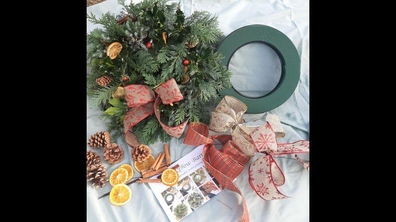 Fresh Wreath Craft Kit