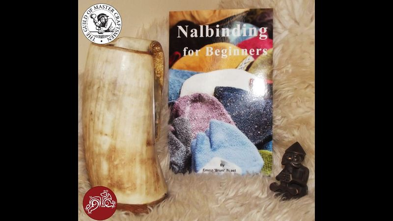 Nalbinding for Beginners Book Introduces you to the ancient fibre craft of Nalbinding