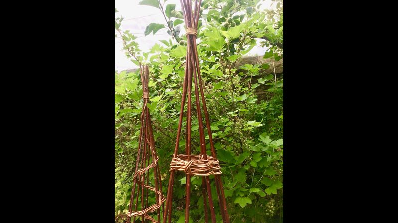 Willow Garden Structures at Cowshed Creative, Lake District