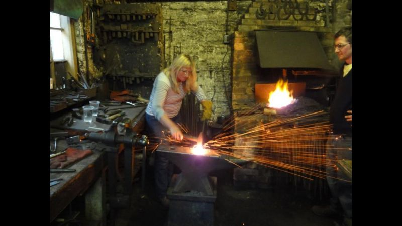 Dawn Conway - fire welding
