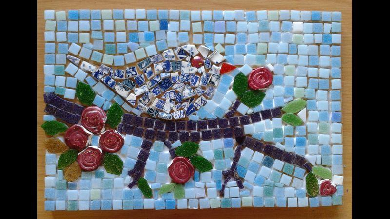 Student work Mosaic course Nottingham