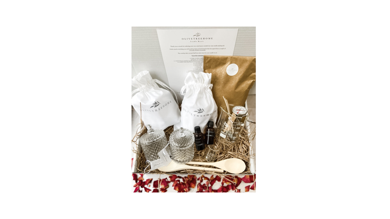 Valentines candle making kit