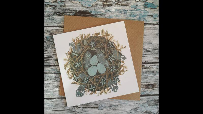 Ouzel nest card