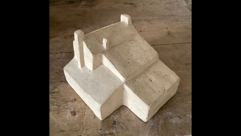 Model of a building
