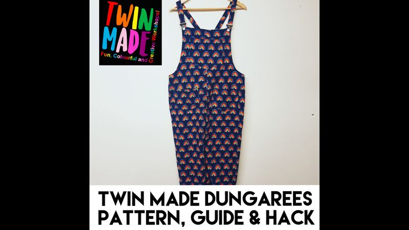 Twin Made Dungaree pattern, guide and hack
