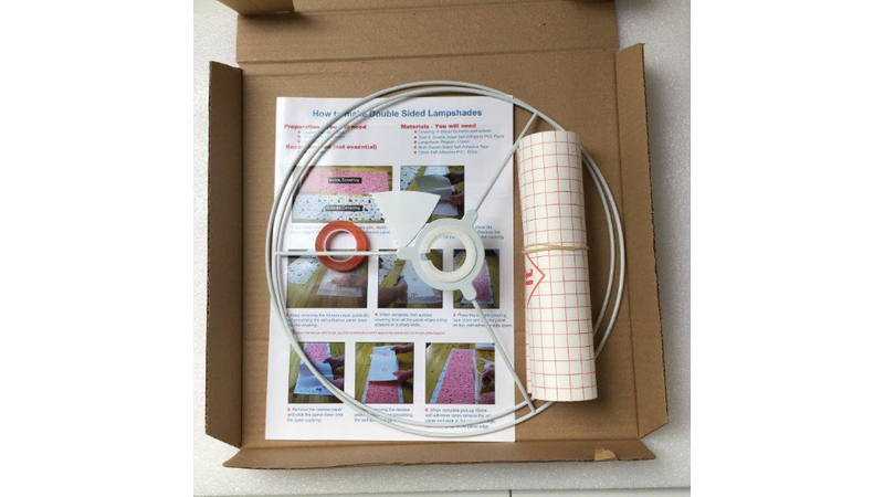 Double Sided Drum Lampshade Making Kit