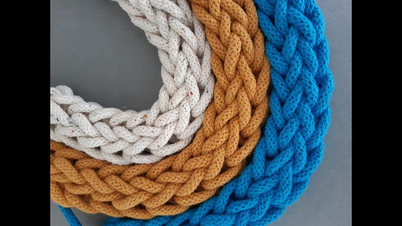 Finger Knitted Necklace Online Workshop