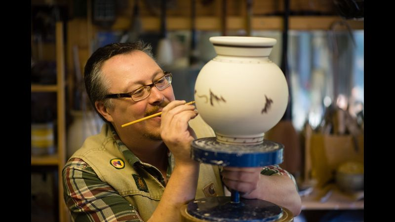 Porcelain Masterclass with Richard Heeley at Potclays in Stoke-on-Trent
