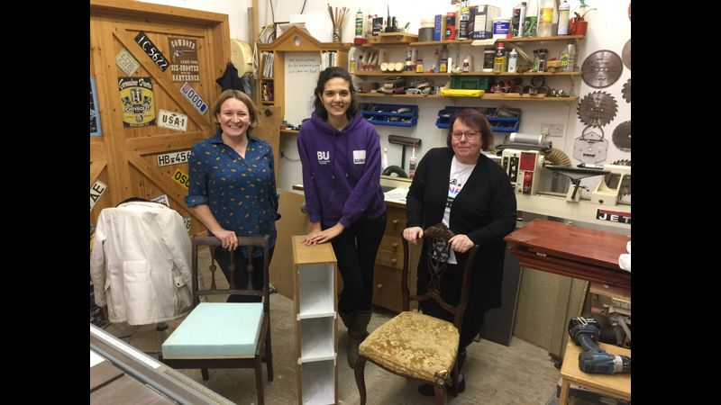 upholstery course, west Byfleet, surrey