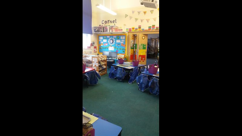 Classroom ready for the fun to begin