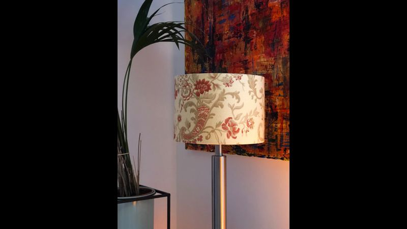 Modern drum lampshade making course with Moji Designs in Hove
