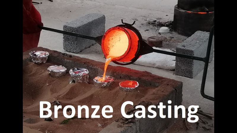 Bronze Cast by Post