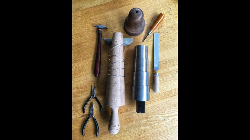 Silver bangles workshop