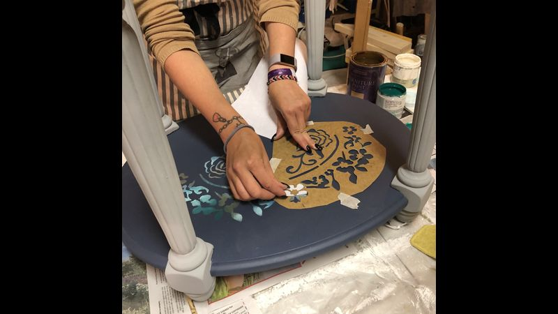 Upcycling Furniture - residential 5 night workshop at Gartmore House, Loch Lomond & The Trossachs