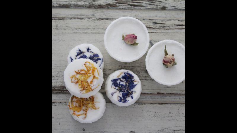 Floral Bath Truffles