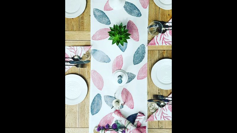 Print your own fabric and turn them into beautiful things for the home.