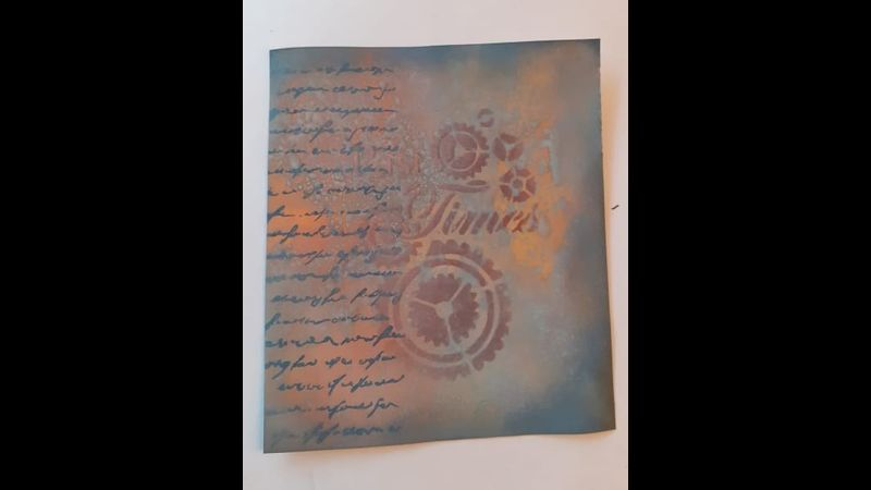 Distress inks and oxides with Craft My Day