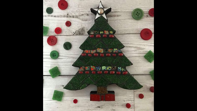 Mosaic Christmas Tree