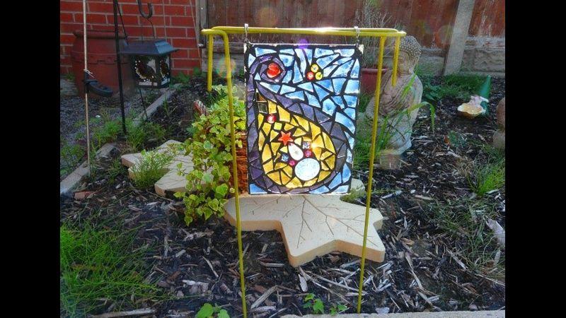 Garden Mosaic Sun Catcher
