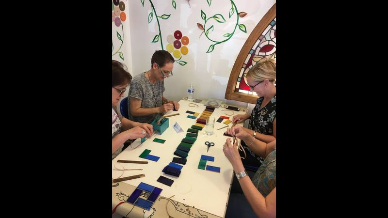 Chose our Beginners Stained Glass Workshop