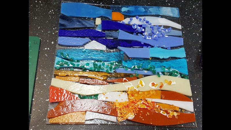 sea view wall art