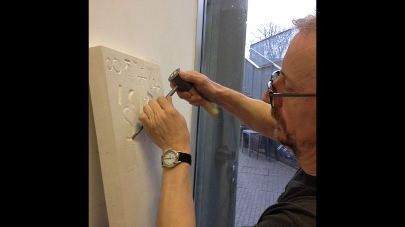 Stone Letter Carving Course with Simon Burns-Cox