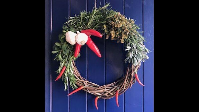 Herbal Door Wreath
