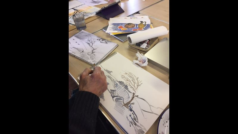Weekly Drawing and Painting Classes