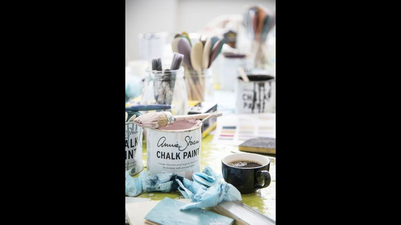 Learn how to upcycle furniture with Annie Sloan Chalk Paint with The Dulwich Trader