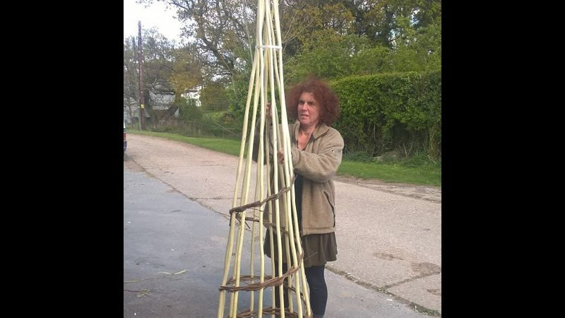Making your garden obelisk