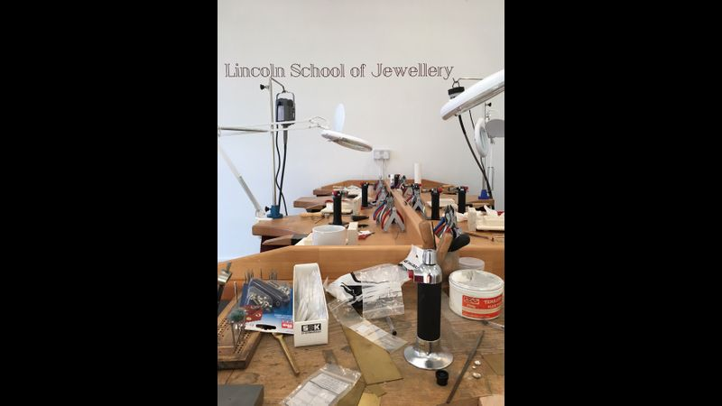 Silversmithing courses at the Lincoln School of Jewellery - evening and daytime classes available