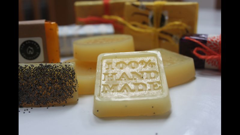 Create truly hand made soap at The Arienas Collective in Edinburgh City Centre.