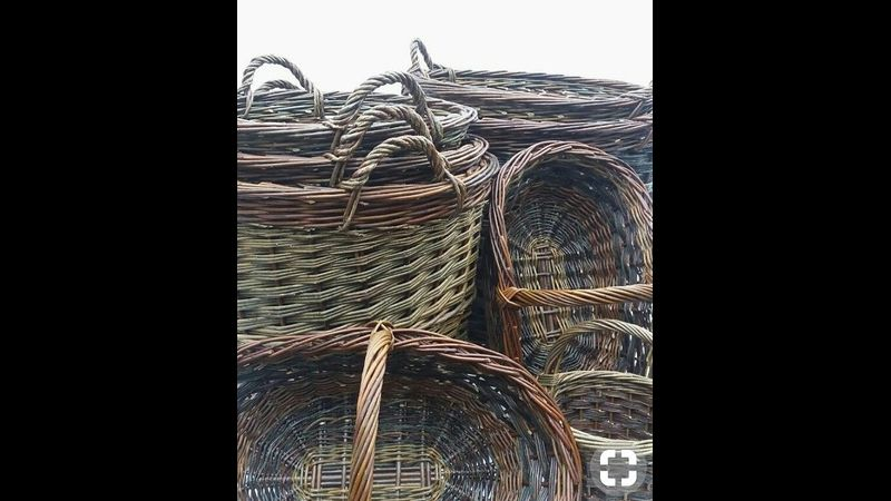 Traditional baskets by Sue Kirk