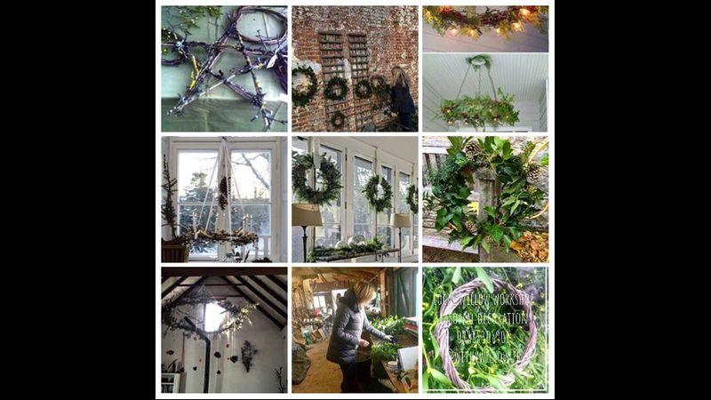Willow seasonal decorations