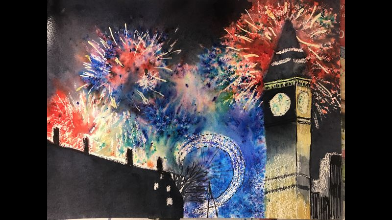 ColourWheel art classes, Ide, Exeter