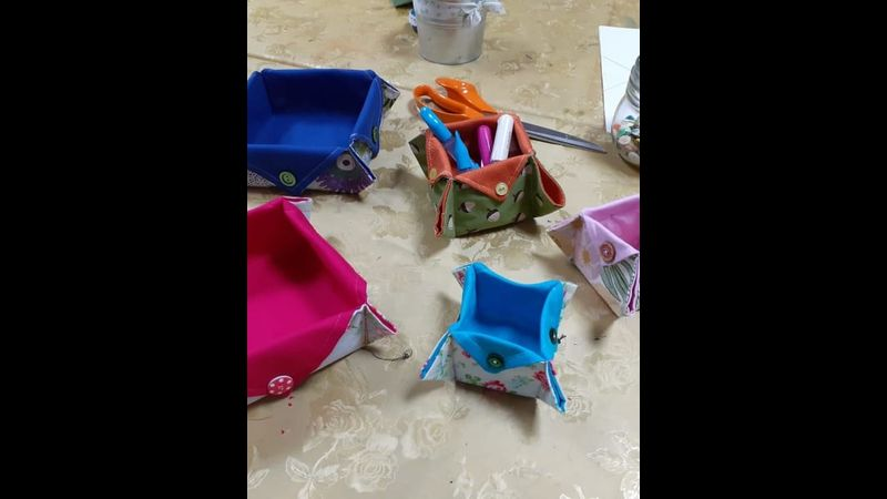 Sew an origami box with Craft My Day
