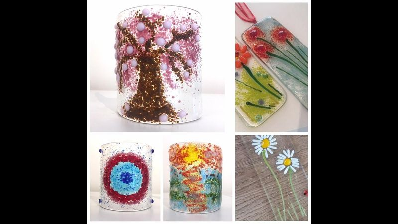 Fused glass workshops Chalfont st Peter
