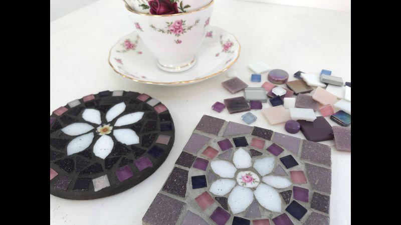 Mosaic coaster experience