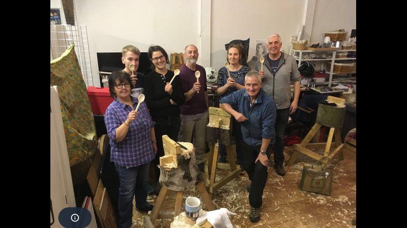 Spoon carvingworkshop