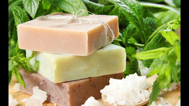 Handmade, luxury soap