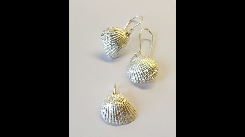 Silver Clay Jewellery at Cowshed Creative in the Lake District