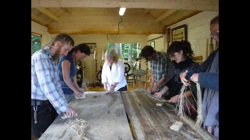 Flaxland workshop