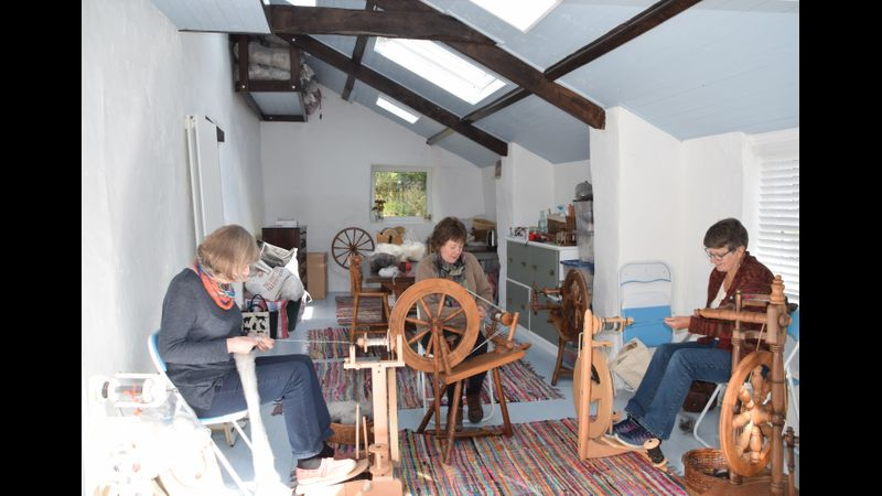 Dedicated spinning studio