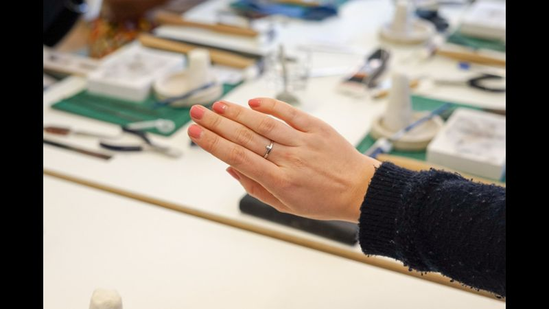 The ring everyone makes (no stressing over what to do!)