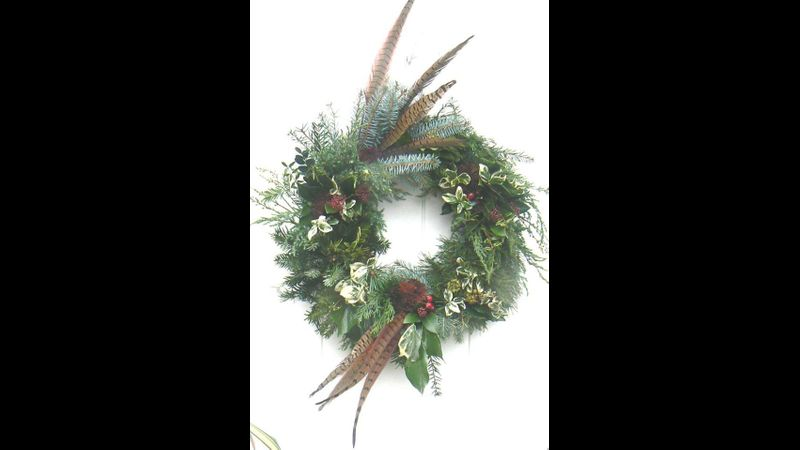 Wreath making course at Quirky workshopss