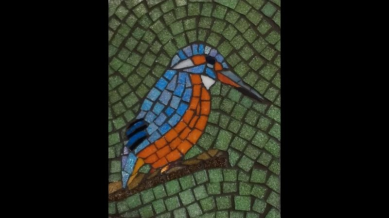 Kingfisher mosaic
